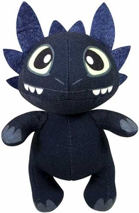 Dragons Defenders of Berk Buddies Plush with Sound FX Toothless [Night Fury]