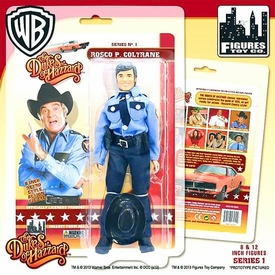 Dukes of Hazzard 8 Inch Series 1 Action Figure Roscoe P. Coltrane Pre-Order ships March