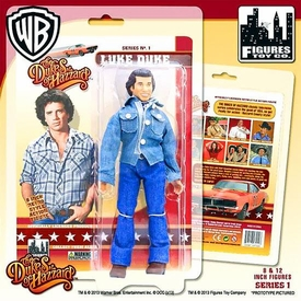 Dukes of Hazzard 8 Inch Series 1 Action Figure Luke Duke New!