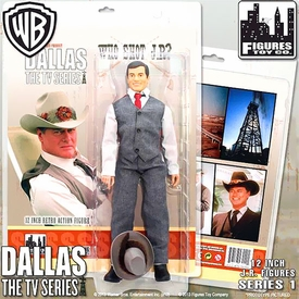 Dallas 12 Inch Series 1 Action Figure JR Ewing [Who Shot Jr?] New!