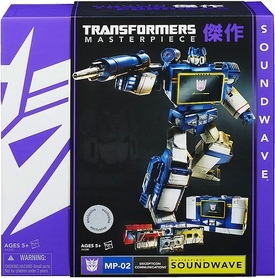 Transformers Universe Exclusive Deluxe Figure Masterpiece Soundwave [Two Damaged Cassettes]