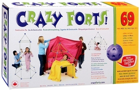 Crazy Forts Construction Toy 69 Piece Set