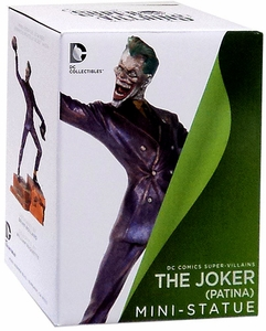 DC Collectibles Patina Mini Statue The Joker
