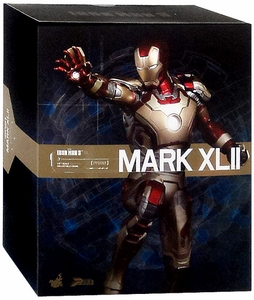 Iron Man 3 Hot Toys Movie 1/6 Scale Power Pose Figure  Iron Man Mark XLII