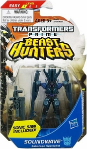 Transformers Prime Beast Hunters Legion Action Figure Soundwave [Sabotage Specialist]