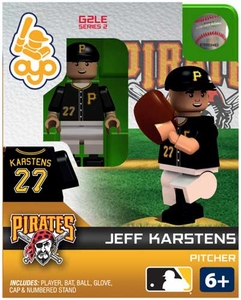OYO Baseball MLB Generation 2 Building Brick Minifigure Jeff Karstens [Pittsburgh Pirates]