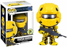 Funko POP! Halo 4 SDCC 2013 San Diego Comic-Con Exclusive Vinyl Figure Spartan Warrior Yellow