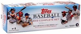 Topps MLB Baseball 2013 Complete Set [Series 1 & 2 660 Cards Plus 5-Card Pack of Rookie Variations]