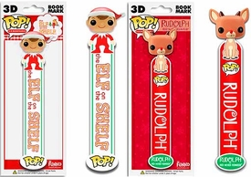 Funko POP! Elf on the Shelf 3D Bookmark Set Elf & Rudolph