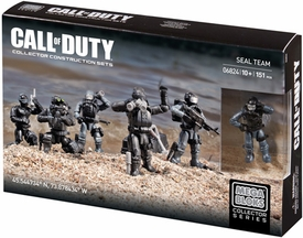 Call of Duty Mega Bloks Set #06824 Seal Team
