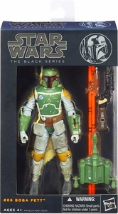 Star Wars Black 6 Inch Series 2 Action Figure Boba Fett