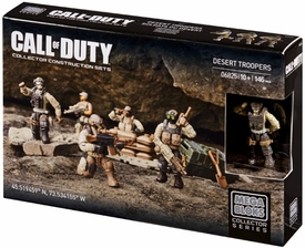 Call of Duty Mega Bloks Set #06825 Desert Troopers