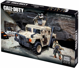 Call of Duty Mega Bloks Set #6817 Light Armor Firebase