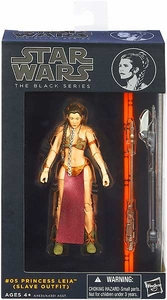 Star Wars Black 6 Inch Series 2 Action Figure Slave Leia