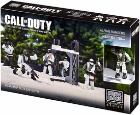Call of Duty Mega Bloks Set #6823 Alpine Rangers