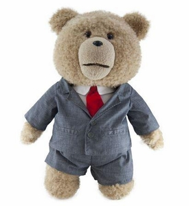 Ted Movie 24 Inch JUMBO Plush Figure with Sound Ted in Suit [Actual Life Size in Movie!]