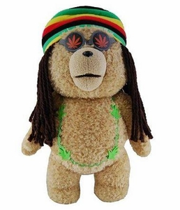 Ted Movie 24 Inch JUMBO Plush Figure with Sound Ted in Rasta Outfit [Actual Life Size in Movie!]