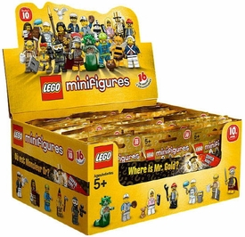 LEGO Minifigure Series 10 Mystery Box [60 Packs]