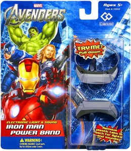 Marvel Avengers Movie Electronic Light & Sound Iron Man Power Band BLOWOUT SALE!