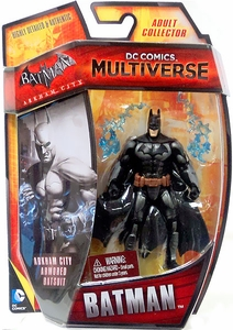 DC Comics Multiverse 4 Inch Action Figure Armored Batman [Arkham City] New!
