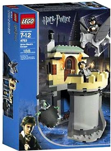 LEGO Harry Potter and the Prisoner of Azkaban Set #4753 Sirius Black's Escape