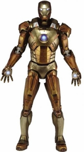 NECA Marvel Exclusive Quarter Scale Action Figure Midas Iron Man [With Electronics!] Pre-Order ships March