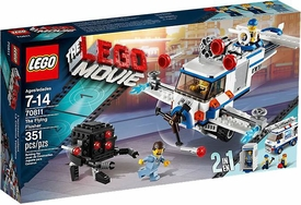 LEGO The Movie Exclusive Set #70811 The Flying Flusher