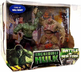 Incredible Hulk Movie Exclusive Action Figure 2-Pack Battle In New York [Hulk & Abomination]