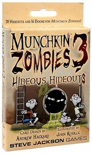 Board Game Munchkin Zombies 3 Hideous Hideouts Expansion