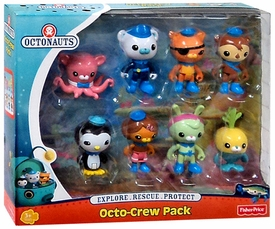 Fisher Price Octonauts Figure 8-Pack Octo-Crew