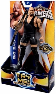 Mattel WWE Wrestling Super Strikers Action Figure Big Show [Title Belt is Cardboard, Not Plastic!]