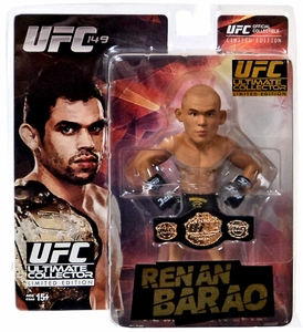 Round 5 UFC Ultimate Collector Series 14.5 LIMITED EDITION Action Figure Renan Barao [Championship Edition] Only 2,000 Made!