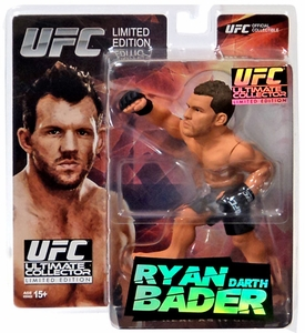 Round 5 UFC Ultimate Collector Series 14.5 LIMITED EDITION Action Figure Ryan Bader  Only 1,000 Made!