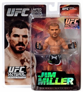 Round 5 UFC Ultimate Collector Series 14.5 LIMITED EDITION Action Figure Jim Miller Only 1,000 Made!
