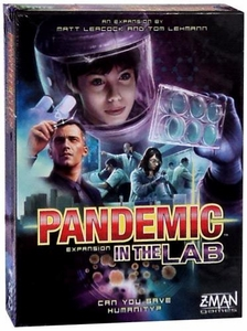 Z-Man Games Pandemic In The Lab Board Game Expansion
