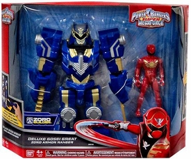 Power Rangers Super Megaforce Vehicle & Action Figure Deluxe Gosei Great Zord Armor Ranger
