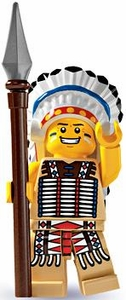 LEGO Minifigure Collection Series 3 LOOSE Mini Figure Native American Chief