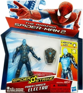 Amazing Spider-Man 2 Spider Strike 3.75 Inch Action Figure Power Charged Electro