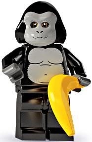 LEGO Minifigure Collection Series 3 LOOSE Mini Figure Gorilla