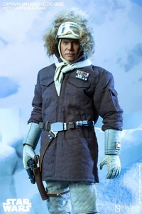 Sideshow Collectibles Star Wars 1/6 Scale Collectible Figure Captain Han Solo [Echo Base] Pre-Order ships November