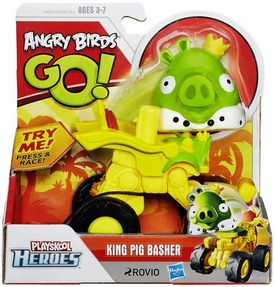 Angry Birds GO! Playskool Heroes King Pig Basher