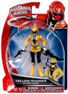Power Rangers Super Megaforce Basic Action Figure Yellow Ranger New!
