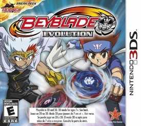 EXCLUSIVE Nintendo 3DS BEYBLADE Evolution Game