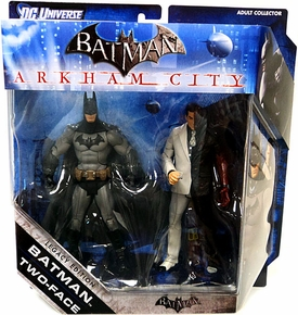 DC Batman Legacy Edition Action Figure 2-Pack Batman & Two Face [Arkham City]