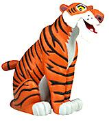 Disney The Jungle Book Exclusive LOOSE Mini PVC Figure Shere Khan