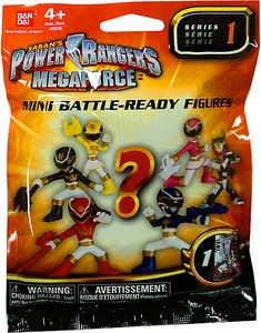 Power Rangers Megaforce Bandai Series 1 Mini Battle Ready Figure Mystery Pack