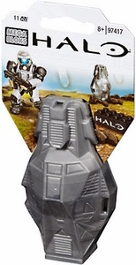 Halo Wars Mega Bloks Set #97417 Metallic ODST Drop Pod [Silver UNSC Soldier]