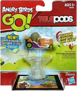 Angry Birds GO! Telepods Kart Series 1 Green Pig with Helmet