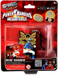 Power Rangers Megaforce Swappz Blue Ranger & Coin
