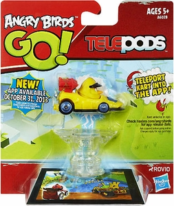 Angry Birds GO! Telepods Kart Series 1 Yellow Bird Hot!